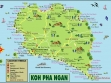 Koh Phangan Map 2