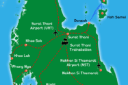 Koh Samui Map