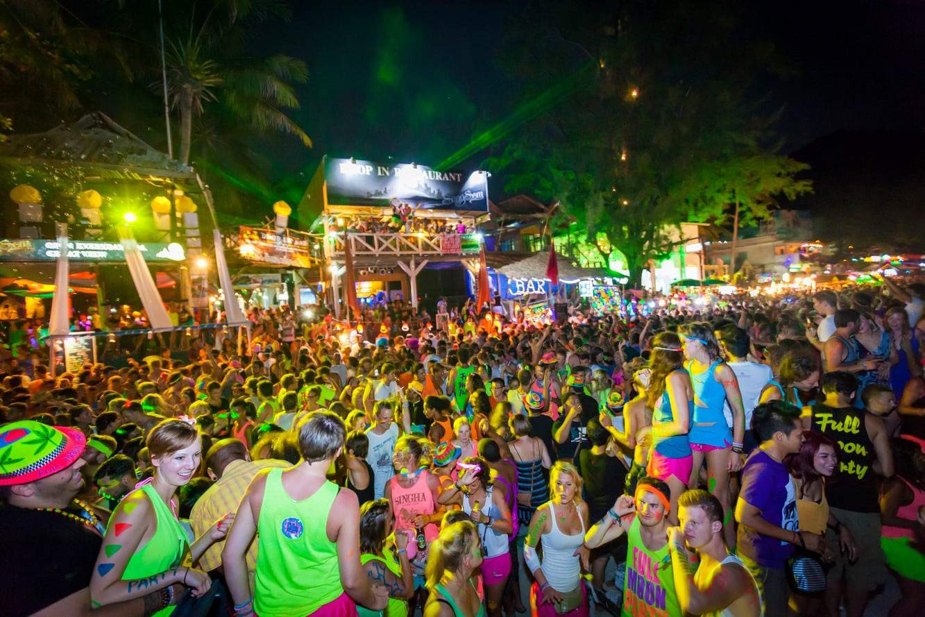 Koh Phangan Full Moon Party 12